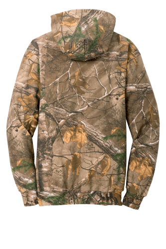NEW! ATCTM REALTREE® TECH FLEECE HOODED SWEATSHIRT back Image