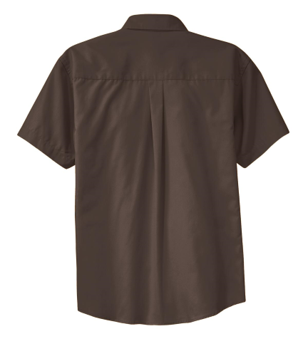 Coal Harbour® Short Sleeve Easy Care Shirt back Image