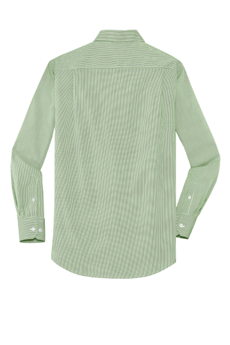 Coal Harbour® Mini Stripe Woven Shirt back Image