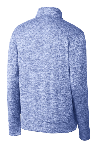 NEW! ATC™ DYNAMIC HEATHER FLEECE 1/2 ZIP SWEATSHIR back Image